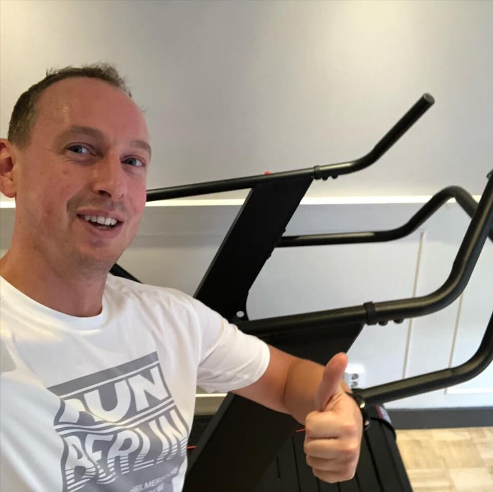 Personal Fit Club - Training studio Voorburg - Nieuwe Crossmaxx runner pro in studio Voorburg Rik