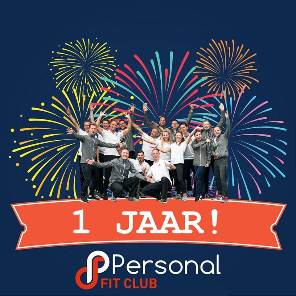 Personal Fit Club - Den Haag Centrum bestaat 1 jaar