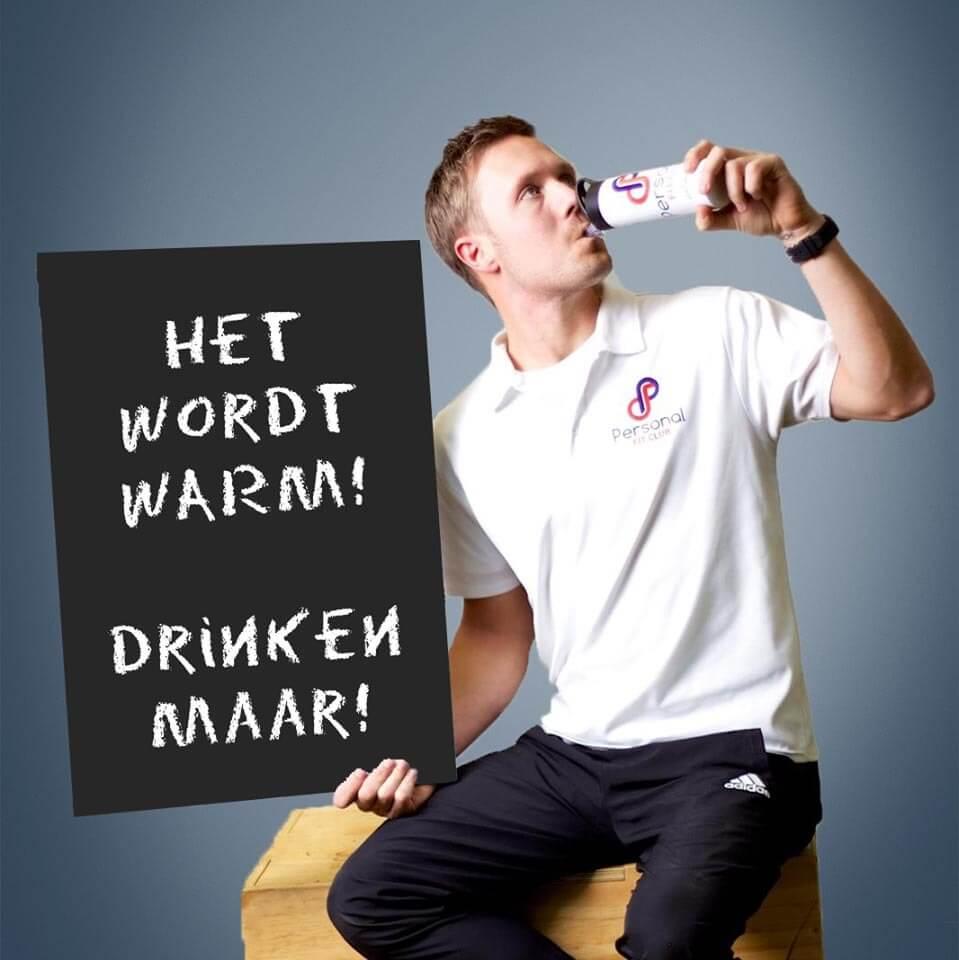 Personal Fit Club - Drink jij voldoende