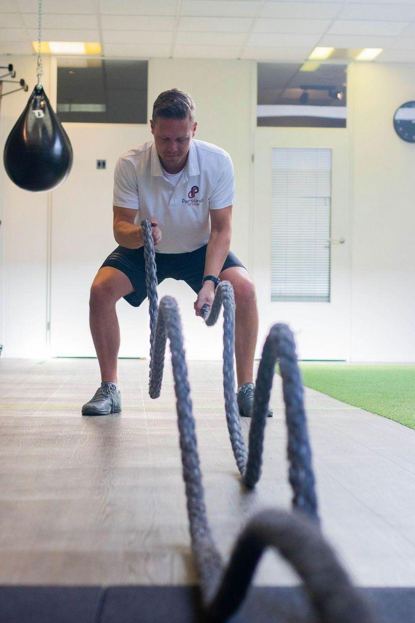 Personal Fit Club - de battle rope