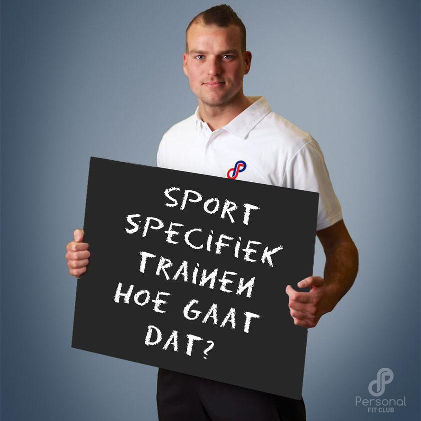 Personal Fit Club - sport specifiek trainen