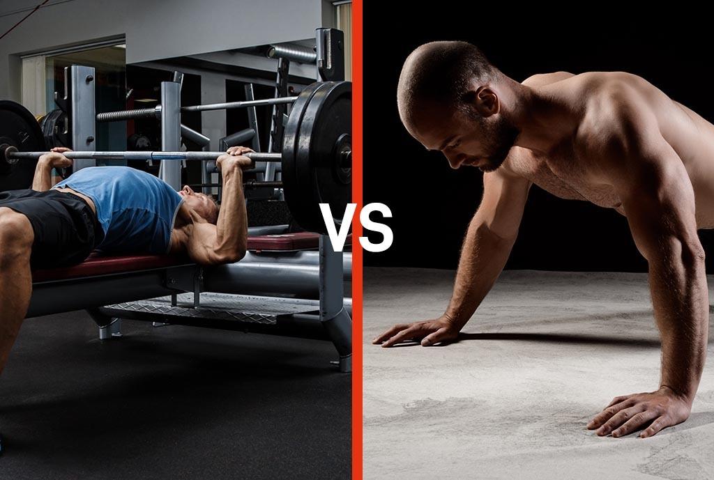 Personal Fit Club - Wat is effectiever, push-ups of de bench press